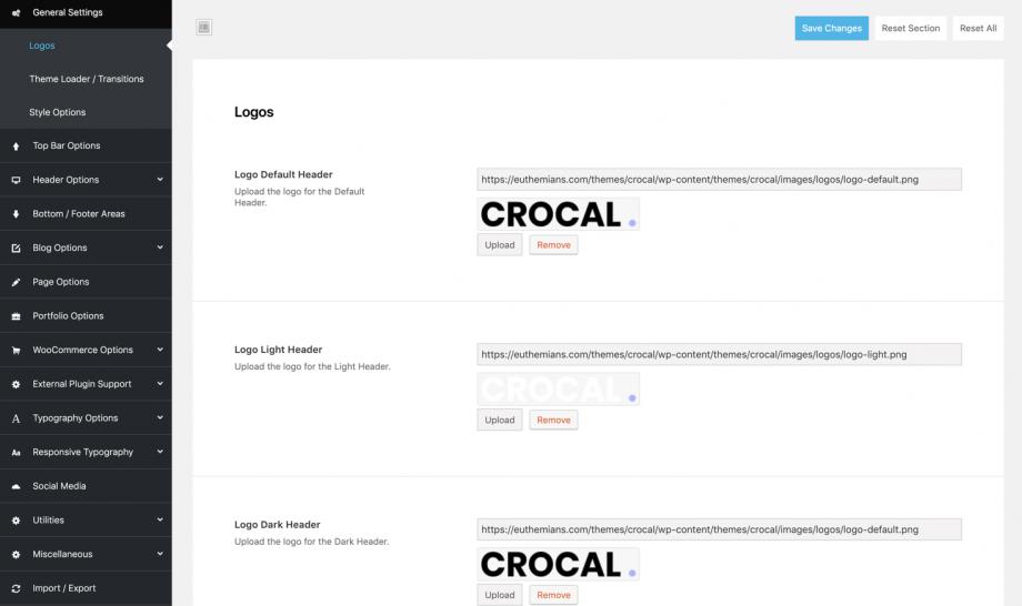 Crocal Logos